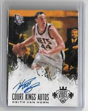 KEITH VAN HORN 2013/14 PANINI COURT KINGS AUTOGRAPH #127/249