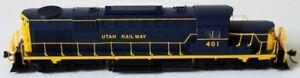 HO Broadway UTAH RSD-15 Diesel Locomotive Rd. #401 w/DCC & Sound