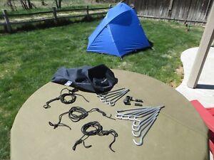 vintage Sierra Designs *Night Watch* -2 Person -4 Season Tent w/ Fly  -complete