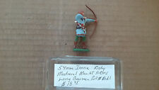 54mm Imrie- Risley Miniatures  Medieval Man At Arms Long Bowman