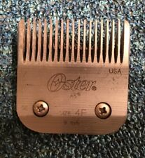 Oster A5 Clipper Blade - #4F Used