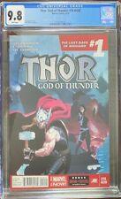 CGC 9.8 THOR: GOD OF THUNDER #19.NOW