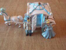 Polly Pocket Disney Princess Carriage Cinderella Prince Charming Lot