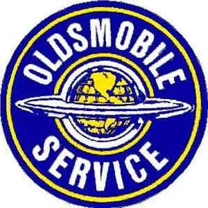 OLDSMOBILE SERVICE  VINYL STICKER (A2012)