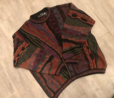 VTG BARACUTA Tundra XL Men's 100% Cotton 3D COOGI STYLE Knit  Sweater Cosby