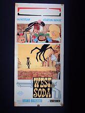Locandina Originale - WEST AND SODA - 1965 - Regia: BRUNO BOZZETTO - Animazione