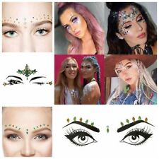 Glitter Adhesive Face Gems Rhinestone Jewel Festival Party Body Tattoo Stickers
