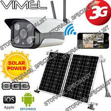 3G Solar Camera Farm Alarm System Farm Home Wireless Security Remote Monitoring