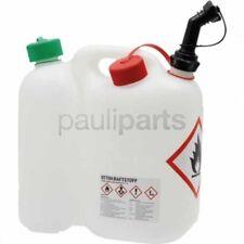 Doppelkanister, Forstkanister, Benzinkanister, Kombikanister, 5,5 / 3 Liter
