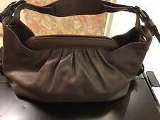 Fendi Brown Leather Borsa Hobo Doctor Shoulder Bag
