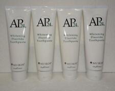 Four pack: Nu Skin Nuskin Ap 24 Whitening Fluoride Toothpaste 110g 4oz x4