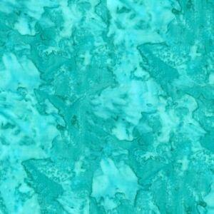 Hoffman 1895 Batik Watercolour Fabric 100% Cotton  spearmint #445