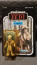 Star Wars Logray Ewok Carded Sealed Figure, 77 Back card ROTJ