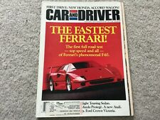 1991 Oldsmobile Ninety Eight, Mazda Protege, Saab 9000 Turbo  Magazine