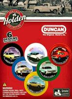 6 x Holden Heritage Collection Duncan YoYo Full Set MONARO TORANA SANDMAN SEDAN
