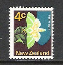 NEW ZEALAND 1970 4c PURIRI 'NO DARK GREEN VEINS' ERROR / FLAW (UHM)