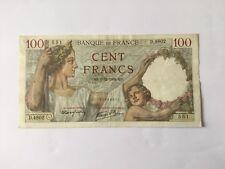 Billet français 100 F Sully 7/12/1939 - 551 - Voir Photo