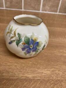 Vintage Royal Worcester  Posy Bowl / Round Vase. 2464