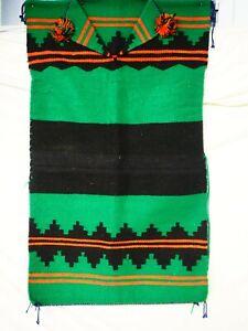 "Navajo Handwoven Biil (Rug Dress) 25"" x 42.5"" circa 1960-1980"