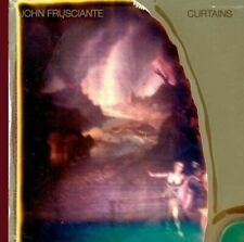 John Frusciante - Curtains DARK RED COLORED Vinyl LP x/1000 Europe Import MINT