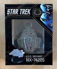 Star Trek USS Defiant NX-74205 Ship - Best Of Eaglemoss Official Starships DS9