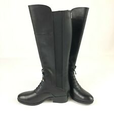Adrienne Vittadini New Moshiko Black Womens Shoes Size 7 M Boots MSRP $229