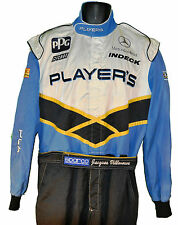 JACQUES VILLENEUVE 1996 INDY 500 PLAYER'S CREW SUIT WITH HIS NAME ON BELT NOT F1