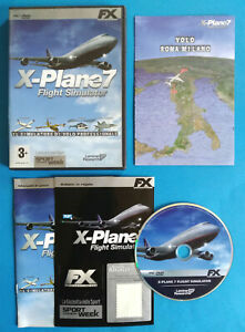Videogame Pc Dvd-Rom X-PLANE 7 Flight Simulator Laminar Research Gazzetta (D4)