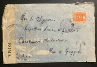 1941 Italian Prisoner Of War POW Camp 4 Egypt Censored Cover To Italy