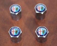 Tappi Valvole Pneumatici Logo Stemma ALFA ROMEO 146 147 156 159 Mito Giulietta