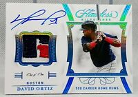 DAVID ORTIZ 1/1 HOLY GRAIL 💎 Flawless ON CARD Auto Logo LAUNDRY Patch Tag HOF 1