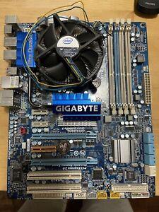 Gigabyte EX58 mobo i7 combo for repair