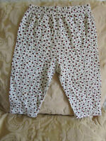 Baby Girls Jersey Cotton Mothercare Leggings / Trousers - 3 - 6 months