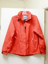 DENALI BRAND WOMEN'S RED RAIN JACKET/PARKA/COAT SZ 14 WATERPROOF BRAND NEW