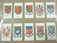 1930 SCHOOL BADGES Godfrey Phillips Comp. Tobacco Card Set 25 cards