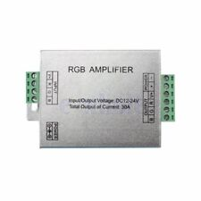 LED 30A Amplifier Controller Repeater 12V for RGB Module LED Strip 5050 3528 BE
