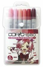Copic ciao 6 colors set Character select Lovely colors