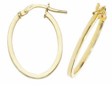 Unbranded Hoop Oval Costume Earrings