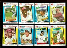 1982 K-MART BASEBALL --- 21 CARD LOT ---  NM-MT  - SEE LIST