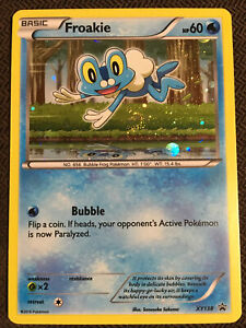 Pokemon Card Promo Froakie Holo BW138 NM