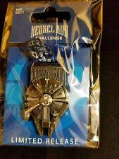 2017 Run Disney Star Wars Dark Side Marathon Kessel Millennium Falcon Medal Pin