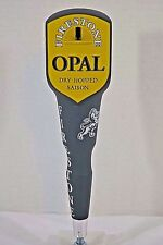 Firestone Opal Dry Hopped Saison Gray/Gold Beer Tap Handle