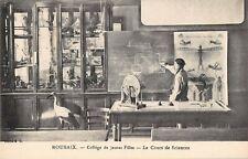 CPA 59 ROUBAIX COLLEGE DE JEUNES FILLES LE COURS DE SCIENCES