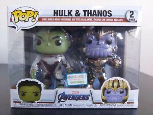 Marvel Funko Pop - Hulk & Thanos 2 Pack - Avengers Infinity War