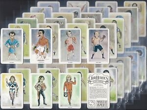 VENORLANDUS-FULL SET- WORLD OF SPORT OUR HEROES MUHAMMED ALI NICKLAUS PELE