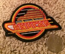 Vancouver Canucks NHL Stitched Hat Shirt Hockey Crest Patch 2.5 x 3.2 inch Black