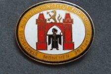 altes Abzeichen Ausbildungsinstitut für Krankenpflege München - emailliert