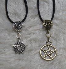 Halskette - Amulett - Pentagramm - Drudenfuß - Drudenstern