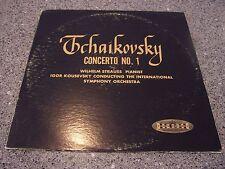 "Tchaikovsky ""Concerto No. 1"" CROWN LP RED VINYL WILHELM STRAUSS, KOUSEVSKY"