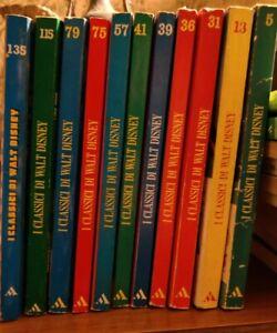 I Classici di Walt Disney - lotto di 12 numeri